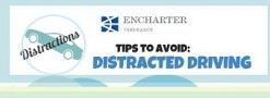 Distracted Driving Infographic Icon
